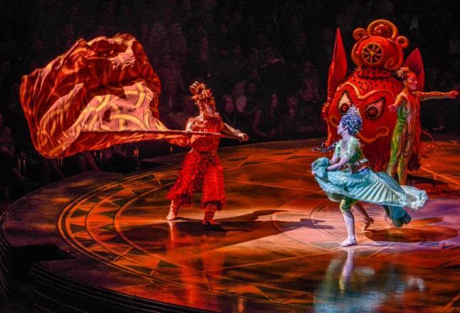 Μάγεψε το Cirque Du Soleil στην αθηναϊκή πρεμιέρα του. Θεσσαλονίκη δεν υπάρχει στο χάρτη τους;