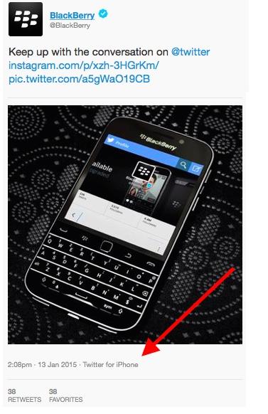 γνωριμίες για το BlackBerry