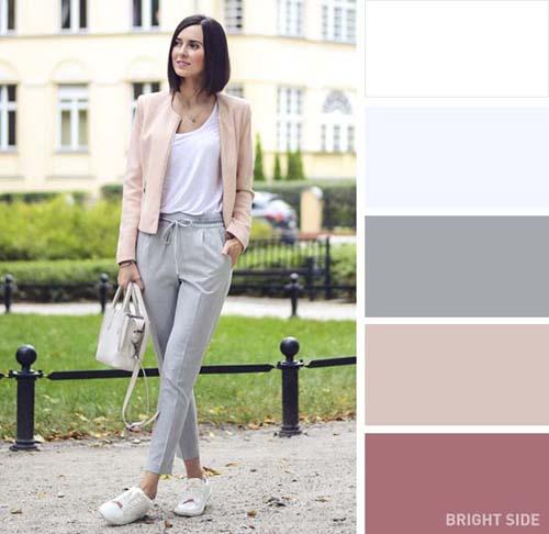 953da642b3ec Ιδανικοί συνδυασμοί χρωμάτων στα ρούχα για την Άνοιξη αποτελούν οι παστέλ  αποχρώσεις. Φορώντας απαλά χρώματα που κυμαίνονται από το σκούρο ροζ –  απαλό σάπιο ...