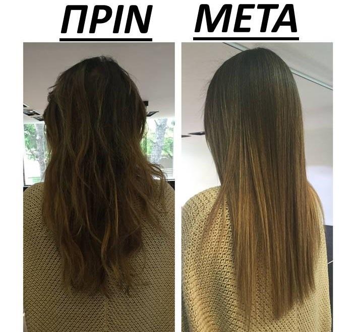 Τι είναι η θεραπεία κερατίνης και τι κάνει στα μαλλιά σας - Να πως ... 3574f20432f