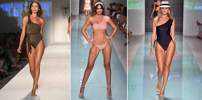 Μαγιό ολόσωμα ή μπικίνι σε μεγάλη ποικιλία αποχρώσεων κατέκλυσαν την  πασαρέλα. Οι διάσημοι σχεδιαστές μόδας έδειξαν τις υπέροχες δημιουργίες  τους που ... 21869eea622
