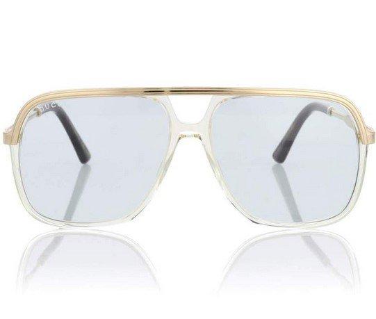Ο οίκος μόδας Gucci είναι η αλήθεια ότι μας έχεις συνηθίσει στα ιδιαίτερα  σχήματα και κοψίματα στα γυαλιά ηλίου του. Κλασικό όμως παραμένει το  τετράγωνο ... 1ba455a204e
