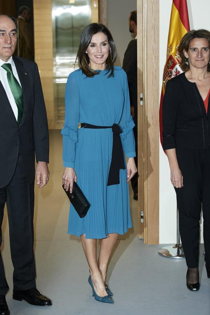 Εντυπωσιακή εμφάνιση για άλλη μια φορά για την Βασίλισσα Λετίσια ... 9c3c6258b75