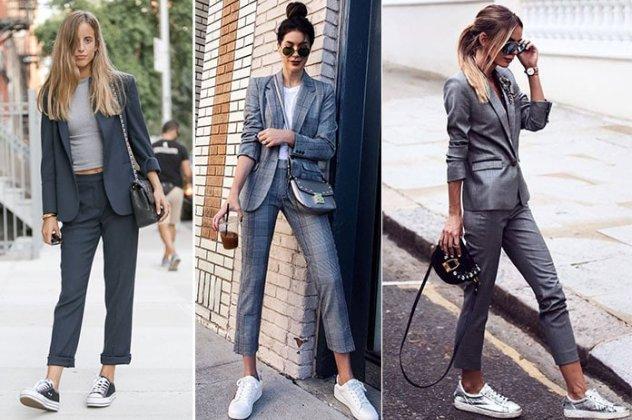 58a9707ef25f PrevNext. Κομψοί συνδυασμοί για να φορέσετε ένα γυναικείο κουστούμι ...
