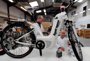 Άρχισε η μαζική παραγωγή ποδηλάτων που κινούνται με υδρογόνο! - Κυρίως Φωτογραφία - Gallery - Video