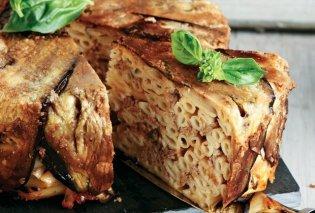 Δοκιμάστε οπωσδήποτε αυτή την συνταγή! Μακαρονόπιτα με μελιτζάνες από την Αργυρώ Μπαρμπαρίγου - Κυρίως Φωτογραφία - Gallery - Video
