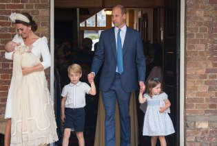 Βασιλικά βαφτίσια: Η μεγάλη στιγμή του πρίγκιπα Louis, η κομψή μαμά Kate & η απουσία της βασίλισσας Ελισάβετ (ΦΩΤΟ-ΒΙΝΤΕΟ) - Κυρίως Φωτογραφία - Gallery - Video