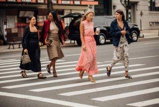Ας δούμε σε πολλές φώτο το καλύτερο Street Style από την εβδομάδα μόδας της Νέας Υόρκης - Κυρίως Φωτογραφία - Gallery - Video