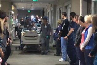 Βίντεο: Η τελευταία βόλτα ενός δωρητή οργάνων στο νοσοκομείο ραγίζει καρδιές- Συγκινεί ο τρόπος που τον αποχαιρετούν οι εργαζόμενοι    - Κυρίως Φωτογραφία - Gallery - Video