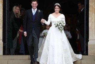 Γάμος Πριγκίπισσας Ευγενίας : Ο Παύλος & η Mαρί Σαντάλ στην πρώτη σειρά των καθισμάτων - το στιγμιότυπο με την κόρη τους (φώτο) - Κυρίως Φωτογραφία - Gallery - Video