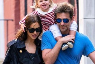 Το ωραιότερο μωρό του κόσμου είναι της Ιρίνα Σάικ και του Μπράντλεΐ Κούπερ - Δείτε όλη την ευτυχισμένη οικογένεια     - Κυρίως Φωτογραφία - Gallery - Video