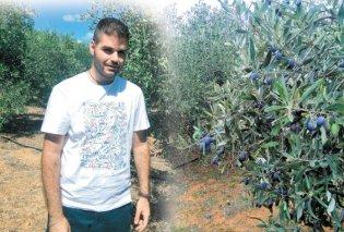 Μade in Greece o 25χρονος αγρότης Χρήστος Καμπούρης από τη Νεμέα - Τι κατάφερε μέσα σε 1 μόλις χρόνο! - Κυρίως Φωτογραφία - Gallery - Video