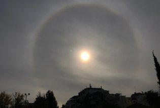 Μοναδικό φαινόμενο με παιχνίδια του ήλιου αποτύπωσε φωτογράφος στον ουρανό του Αγρινίου - Κυρίως Φωτογραφία - Gallery - Video