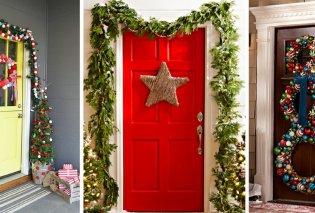 Χριστούγεννα 2020: 10 μοναδικοί τρόποι για να διακοσμήσετε την πόρτα του σπιτιού σας (Φωτό) - Κυρίως Φωτογραφία - Gallery - Video