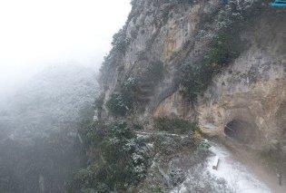 Το φαράγγι του Αχέροντα κατά την διάρκεια χιονοθύελλας – Ένα μαγικό βίντεο  - Κυρίως Φωτογραφία - Gallery - Video