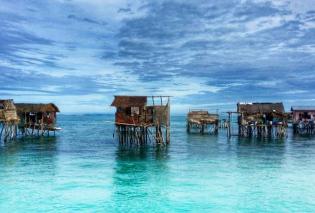 """""""Τσιγγάνοι της θάλασσας"""": Υπέροχες εικόνες από το χωριό Bajau με κατοικίες μέσα στο νερό - Φώτο - Κυρίως Φωτογραφία - Gallery - Video"""
