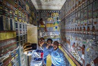 Εντυπωσιακές φωτογραφίες!  - Αιγύπτιοι αρχαιολόγοι ανακάλυψαν ζωγραφισμένο τάφο 4.000 ετών  - Κυρίως Φωτογραφία - Gallery - Video