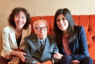 Ο Σαλβατόρε αποχαιρέτησε τον μάταιο κόσμο - Ήταν 110 ετών και γηραιότερος άνδρας της Ιταλίας (φωτό) - Κυρίως Φωτογραφία - Gallery - Video