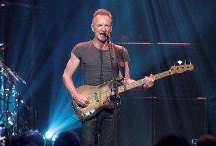 Τι τρέχει με την υγεία του Sting; - Ακυρώνει την μια συναυλία μετά την άλλη - Κυρίως Φωτογραφία - Gallery - Video