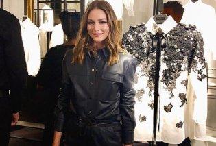 Η πιο σικ influencer του κόσμου Ολίβια Παλέρμο με το κορυφαίο στυλ της σεζόν: Καμπάνα πτι καρό παντελόνι , κανελί σακάκι (φώτο)  - Κυρίως Φωτογραφία - Gallery - Video