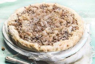 Η Αργυρώ Μπαρμπαρίγου προτείνει: Νοστιμότατη τριφτή μηλόπιτα κραμπλ με ψιχουλιαστή ζύμη μπισκότου!  - Κυρίως Φωτογραφία - Gallery - Video