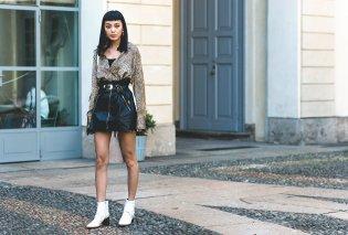 Δερμάτινη φούστα: 35+1 σύνολα που θα αναδείξουν την θηλυκότητα σας - Φώτο  - Κυρίως Φωτογραφία - Gallery - Video