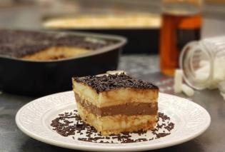 Το απόλυτο γλυκό ψυγείου από την Αργυρώ Μπαρμπαρίγου  - Με κρέμα σοκολάτας, τρούφα & κονιάκ  - Κυρίως Φωτογραφία - Gallery - Video