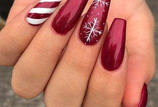 Μανικιούρ - Δεκέμβριος 2019: 40 εντυπωσιακά σχέδια για τα πιο γιορτινά νύχια! Φώτο - Κυρίως Φωτογραφία - Gallery - Video
