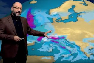 O μετεωρολόγοςΣάκης Αρναούτογλουδεν «μασάει»: Έκανε live μετάδοσηαπότα χιόνια - Μπράβο Σάκη!Βίντεο  - Κυρίως Φωτογραφία - Gallery - Video
