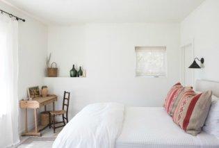 Ο Σπύρος Σούλης δείχνει 8 εκπληκτικές ιδέες για μίνιμαλ υπνοδωμάτια - Όμορφα διακοσμημένα & οργανωμένα  - Κυρίως Φωτογραφία - Gallery - Video