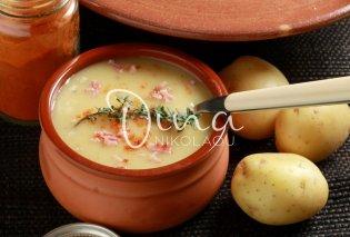 Η Ντίνα Νικολάου προτείνει μια κλασική γαλλική χωριάτικη σούπα με πατάτα και πάπρικα - Δοκιμάστε την, είναι φοβερή! - Κυρίως Φωτογραφία - Gallery - Video
