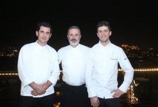 Ο διάσημος Γάλλος σεφ Geoffrey Rembert δημιούργησε μενού με Ελληνικά προϊόντα σε γνωστό ξενοδοχείο της Αθήνας - Κυρίως Φωτογραφία - Gallery - Video