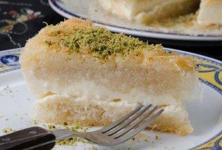 Στέλιος Παρλιάρος: Φτιάξτε Κουνάφα - Το πιο τέλειο αιγυπτιακό γλυκό με κανταΐφι & κρέμα - Κυρίως Φωτογραφία - Gallery - Video
