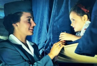 Vintage pics που εκπλήσσουν: Επιβάτες στην πρώτη θέση Boeing του 1947 – Κουβερτούλα, περιοδικό & πλένουν δοντάκια - Κυρίως Φωτογραφία - Gallery - Video