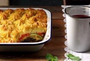 Η Αργυρώ Μπαρμπαρίγου προτείνει για σήμερα νηστίσιμο μουσακά - Από τις πιο ωραίες vegan συνταγές - Κυρίως Φωτογραφία - Gallery - Video