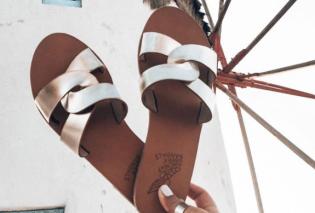 Αncient Greek Sandals: Τα Made in Greece σανδάλια φιγουράρουν στην Βρετανική Vogue  - Tα λένε Καρυάτιδα (φωτό) - Κυρίως Φωτογραφία - Gallery - Video