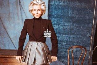 Η μόδα δεν κλείνεται σπίτι & το Elle έχει φανταστικό εξώφυλλο την 82χρονη Τζέιν Φόντα με ένα φοβερό σύνολο - επιτομή κομψότητας (φωτό) - Κυρίως Φωτογραφία - Gallery - Video