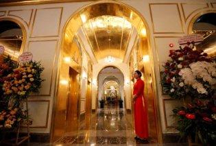 Βιετνάμ – Εγκαίνια για χρυσό ξενοδοχείο: Λεκάνες & τουαλέτες 24 καρατίων (Φωτό & Βίντεο)  - Κυρίως Φωτογραφία - Gallery - Video