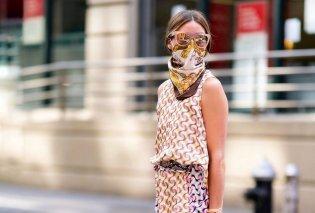 Olivia Palermo: Η κομψότερη γυναίκα του πλανήτη φοράει τα μεταξωτά μαντήλια σαν μάσκα για τον κορωνοϊό με unique style (Φωτό)  - Κυρίως Φωτογραφία - Gallery - Video