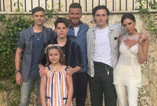 Στο Amanzoe της Ερμιονίδας ξανά η οικογένεια Beckham - Οι διακοπές στην Ελλάδα & οι βουτιές του David με την κόρη του Harper (φωτό) - Κυρίως Φωτογραφία - Gallery - Video