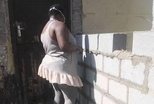 Topwoman η 26χρονη Zama που έχτισε με τα χέρια της ένα ολόκληρο σπίτι - Έγινε οικοδόμος & υδραυλικός ,έστρωσε πλακάκια - Δείτε καρέ- καρέ το μικρό της θαύμα - Κυρίως Φωτογραφία - Gallery - Video