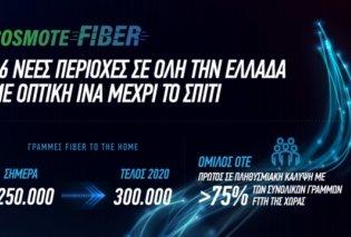 COSMOTE Fiber: 36 νέες περιοχές σε όλη την Ελλάδα με οπτική ίνα μέχρι το σπίτι  - Κυρίως Φωτογραφία - Gallery - Video