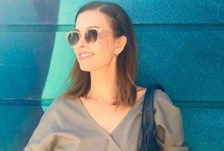 Η Τζίνα Αλιμόνου παρουσιάζει τα looks που θα φορεθούν το φετινό φθινόπωρο – Μποτίνια, τσάντες με κρόσσια & μπλε γόβες (Φωτό & Βίντεο)  - Κυρίως Φωτογραφία - Gallery - Video