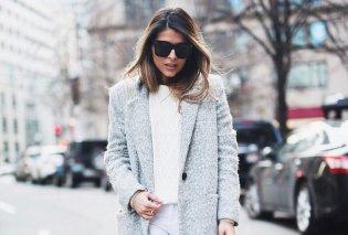 36 συνδυασμοί με γκρι παλτό για να ολοκληρώσεις ένα τέλειο σύνολο - Fashion tips (Φωτό)  - Κυρίως Φωτογραφία - Gallery - Video