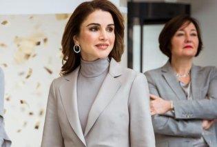 """Η Ράνια αγαπά τα κοστούμια: Οι 15+1 πιο stylish εμφανίσεις της ωραίας βασίλισσας με κομψότατο """"ανδρόγυνο"""" look (φωτό) - Κυρίως Φωτογραφία - Gallery - Video"""