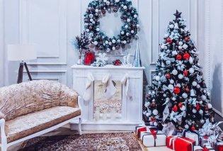 25 εντυπωσιακές & σικ ιδέες για να διακοσμήσετε το καθιστικό σας τα Χριστούγεννα - Γιορτάστε με στυλ (φώτο) - Κυρίως Φωτογραφία - Gallery - Video