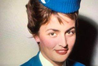 Κάτια Νικολοπούλου: Έφυγε από τη ζωή η αεροσυνοδός της Ολυμπιακής που το 1963 κέρδισε το πρώτο βραβείο στον διεθνή διαγωνισμό στολών - Η ξαδέρφη μου με το υπέροχο χαμόγελο - Κυρίως Φωτογραφία - Gallery - Video