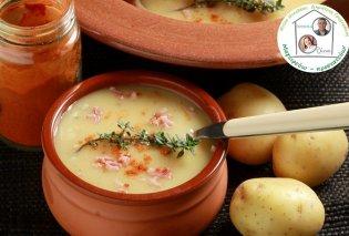 Η Ντίνα Νικολάου έχει μια πεντανόστιμη συνταγή: Βελούδινη πατατόσουπα με πάπρικα - Κυρίως Φωτογραφία - Gallery - Video