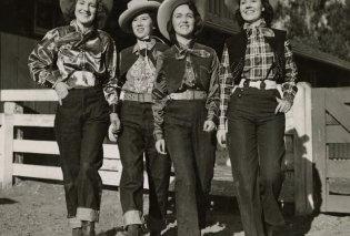 Vintage Fashion pics: 30 υπέροχες κυρίες με τα τζιν τους - Ήταν μόδα & την δεκαετία του 40 (φώτο)  - Κυρίως Φωτογραφία - Gallery - Video