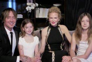 Golden Globes 2021: Οικογενειακή υπόθεση η φετινή τελετή - Η Nicole Kidman εμφανίστηκε μαζί με τον άντρα και τις κόρες της (φωτό & βίντεο) - Κυρίως Φωτογραφία - Gallery - Video